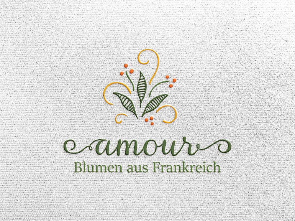Logovorschau auf Papier gepraegt