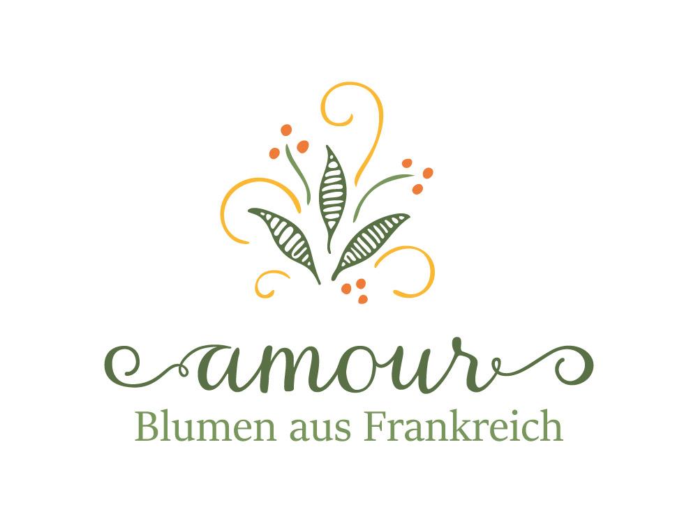Logogestaltung fuer einen Blumenladen