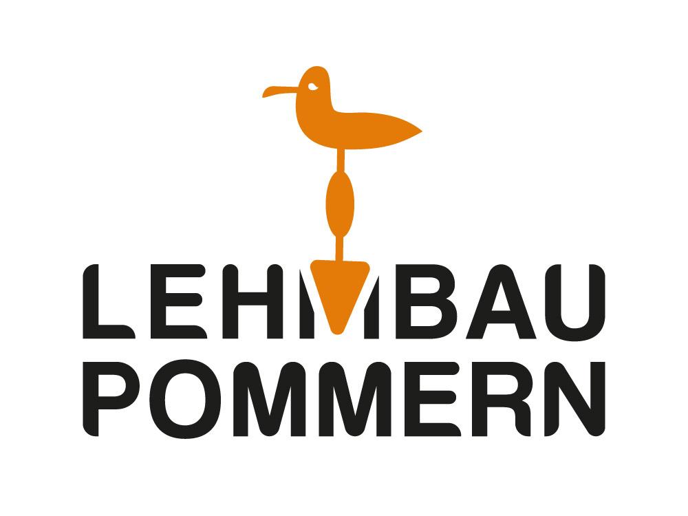 Logogestaltung für das Unternehmen Lehmbau Pommern
